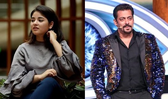 ziara wasim in bigg boss 13 with salman khan