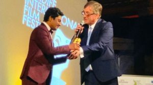 Nawazuddin Siddiqui receives Golden Dragon Award at Cardiff International Film Festival