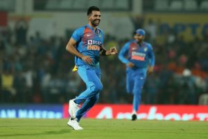 Deepak Chahar records best bowling figures in T20I history
