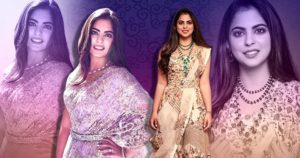 Isha Ambani reminds us of her wedding look in these outfits