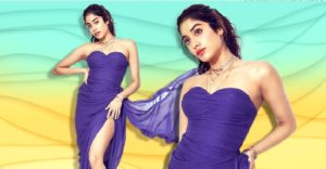 Janhvi Kapoor is here to belief weekday blues with a dash of purple