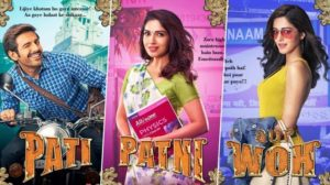 Pati Patni Aur Woh trailer: Kartik, Bhumi and Ananya try to recreate clan comedy