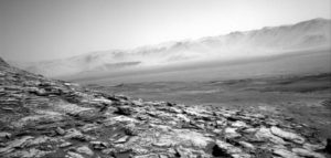 NASA's Curiosity Rover sends back spooky images of Central Butte on Mars