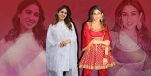 Sara Ali Khan's pishwas style Anarkali is trend-worthy